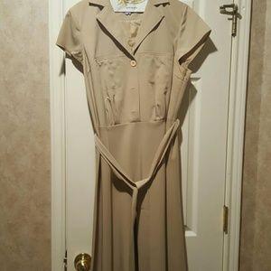 Calvin Klein Silk Rayon Dress