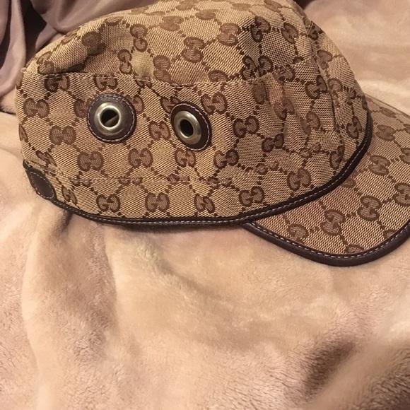 Gucci Accessories - Gucci Military Hat 6c9fa94b9ac