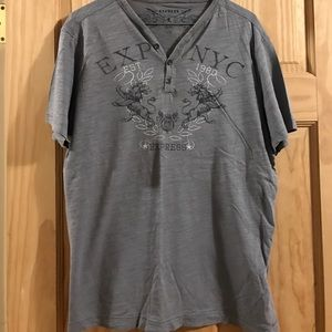 Mens Express graphic tee