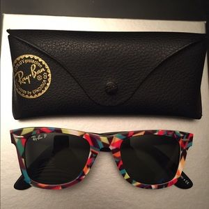 Authentic Ray-Ban Sunglasses w/case