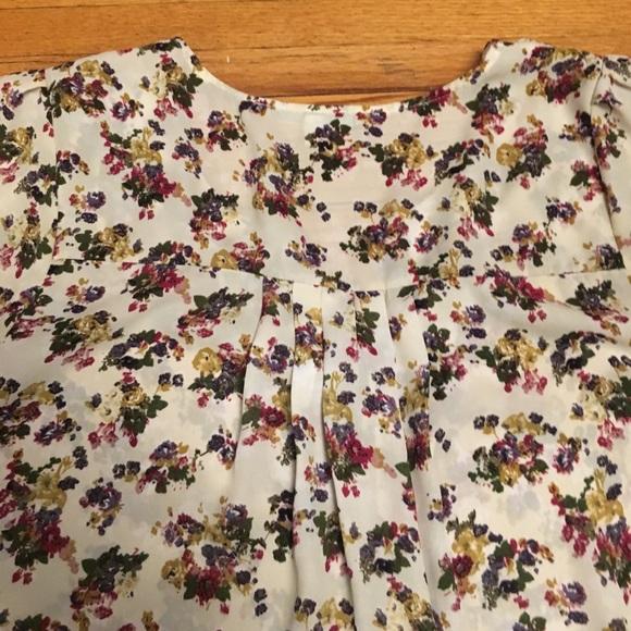 Daniel Rainn Floral Print Blouse 78