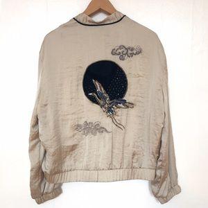 Zara Sokajan embroidered jacket.