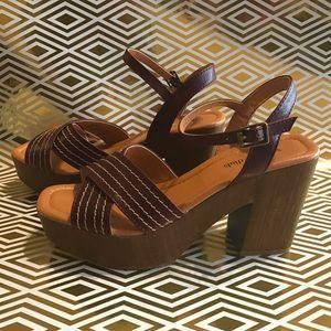 Seven Dials Shoes - Platform block heel shoes