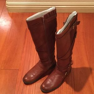 Miz Mooz Shoes - Miz Mooz Brown Riding Boots