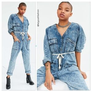 Urban Outfitters Pants - BDG Riveter Denim Coverall Jumpsuit