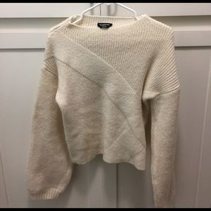 bebe Sweaters - Knit Sweater with bell sleeve