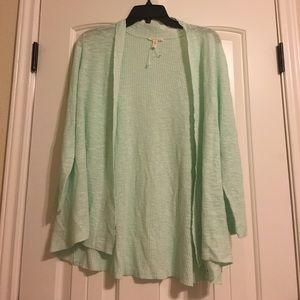 Eileen Fisher Sweaters - Eileen Fisher Mint Sweater Cardigan