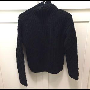 bebe Sweaters - Chunky Knit Turtleneck Sweater