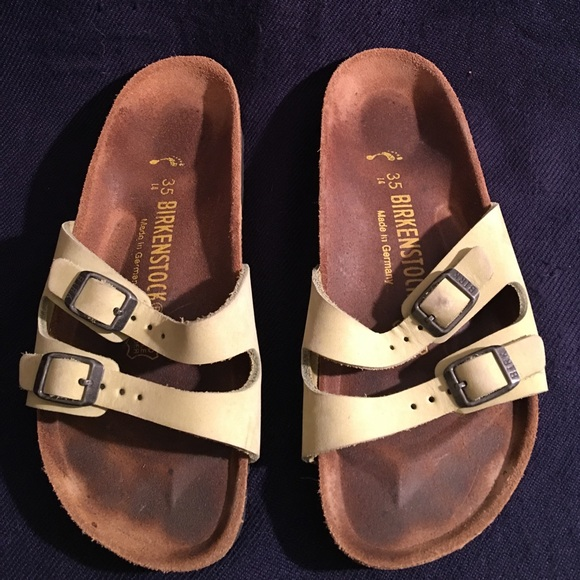 a73cce1b999d BIRKENSTOCK NARROW GERMANY LEATHER SANDALS 35 L 4