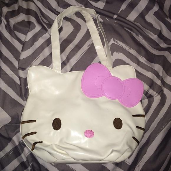 a1f33ccdbbe Hello Kitty Bags   Cute Head Purse Handbag   Poshmark