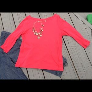 Talbots Tops - Talbots boat next T 3/4 sleeve use Size S