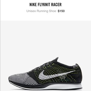 new product ec833 ce34a ... where can i buy promo code for nike shoes nwb unisex nike flyknit racer  7m 8.5