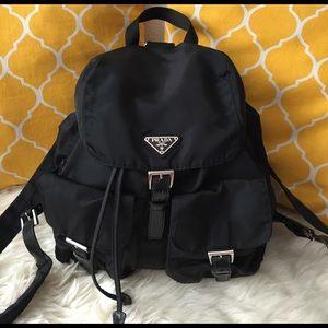Prada Handbags - 🌸OFFERS?🌸Prada Black Backpack