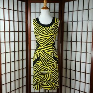 Kardashian Kollection Dresses & Skirts - Kardashian Kollection Geometric Casual Dress Sz S