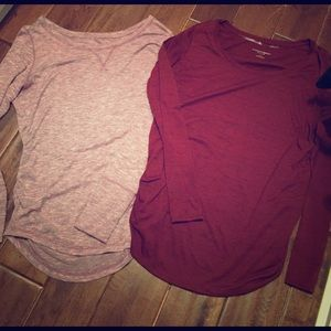 Liz Lange Tops - Maternity 👚  long sleeve shirts