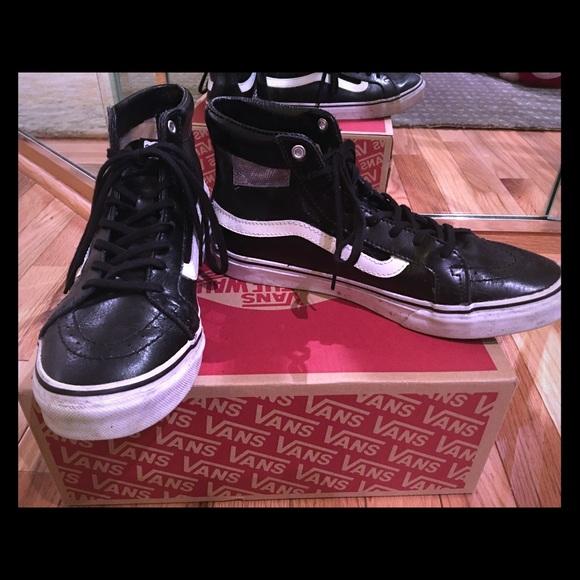 402aeedfa7 Vans SK8-Hi Slim Cutout Mesh High Top Shoes. M 58b3b64b13302a5267038d46