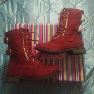 Link Other - Link Burgundy Mango-73 style Boots