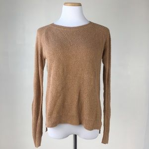 Madewell size S Pullover Sweater Tan