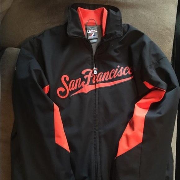 uk availability baddc ae6c3 San Francisco Giants Jacket (Majestic Brand)
