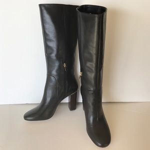 Banana republic leather tall boots