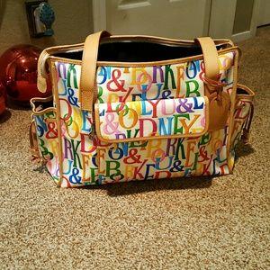 Dooney & Bourke Handbags - Dooney and bourke diaper bag