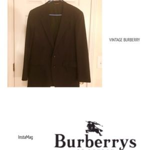 Burberry Other - VINTAGE MEN'S BURBERRY WOOL BLAZER, size 40 Reg
