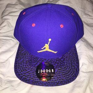 Jordan Other - NWT Purple Jordan SnapBack