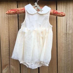 Vitamins Baby Other - Vitamins Baby yellow tulle dress sz: 3-6 months