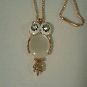 Jewelry - Opal Owl   Necklace
