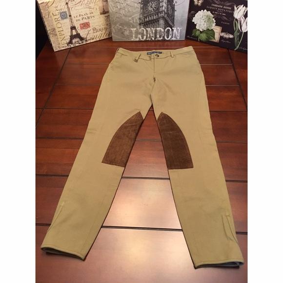 Ralph Lauren Riding Pants, Olive Green- Size 4