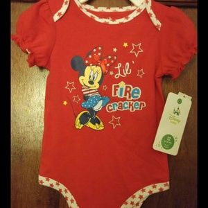 Other - Brand new minnie mouse onsie   Size 12 months
