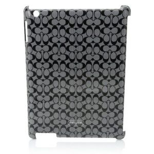 Coach Accessories - NWOT authentic Coach hard shell iPad cover black