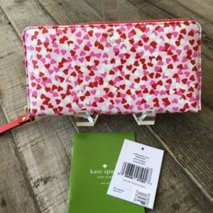 kate spade Handbags - Kate Spade Secret Admirer Confetti Lacey Wallett