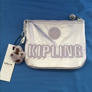 Kipling Handbags - ⭐️Sale⭐️Kipling Metallic Pouch
