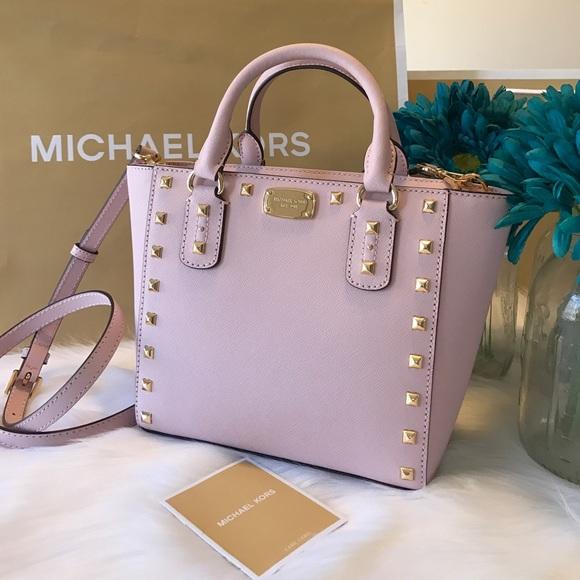 f1782c20c6f732 MICHAEL Michael Kors Bags | Michael Kors Sandrine Stud Crossbody ...