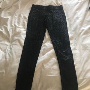 Size medium leopard print leggings express