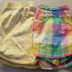 Other - 2 pair of little girl shorts