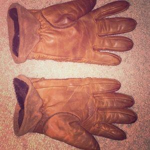 J Crew Brown Gloves