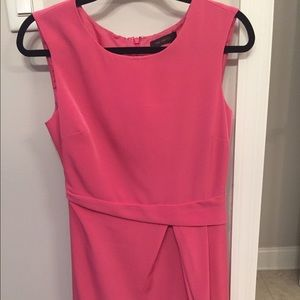 The Limited pink sleeveless dress