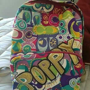 Coach limited edition poppy backpack!