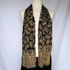 Vintage Accessories - BATIK Style Neck Scarf