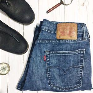 Levi's Other - 💛 Levi 514 Straight Leg Men's Jeans