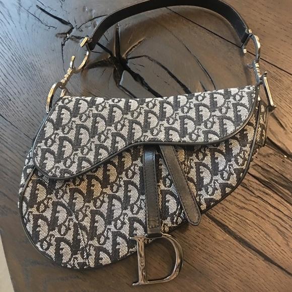 0ee499f2a03a Christian Dior Handbags - Christian Dior Denim monogram