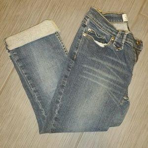 Sz 7 Arizona Capri jeans