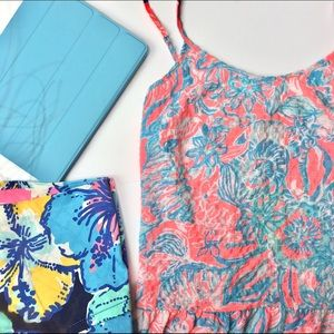 {Lilly Pulitzer} Summer Siren Coral Tank