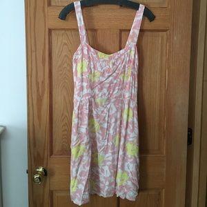 Black Poppy Dresses & Skirts - Pink, white and yellow sundress