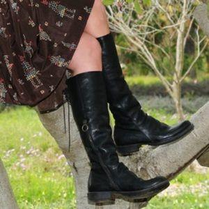 Fiorentini + Baker Shoes - Fiorentini and Baker black emma boots