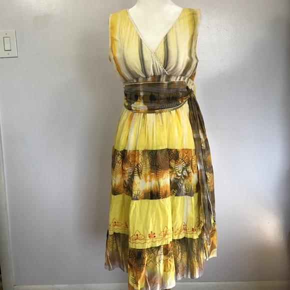 36963a534e61 Raya Sun Cotton Dress- Med. M 58b449829c6fcfccc40b27ca