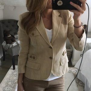 Ralph Lauren Black Label Jackets & Blazers - Ralph Lauren Black Label linen blazer 8 suede