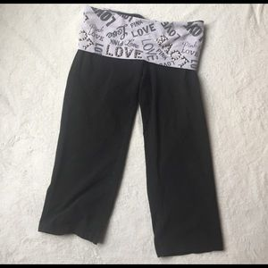 PINK Victoria's Secret Pants - VS Pink yoga crop pants size S